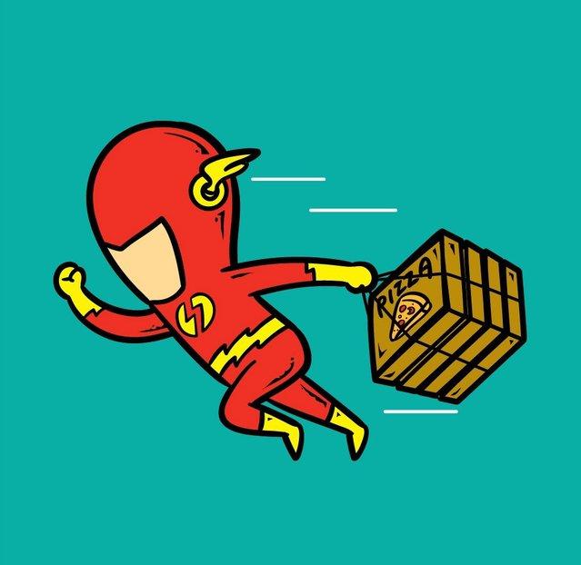 Кем подрабатывают знаменитые супергерои