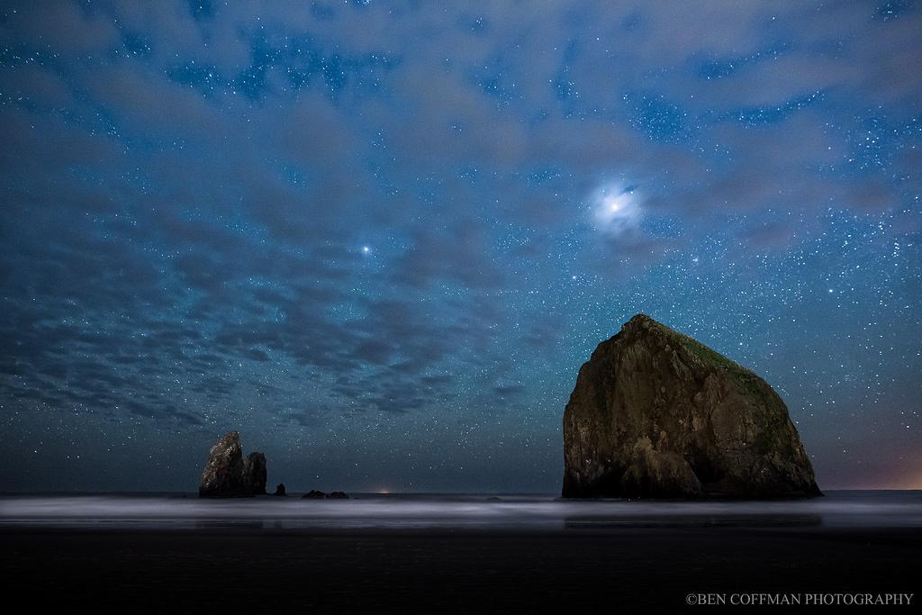 Звездное небо фотографа Бена Коффмана