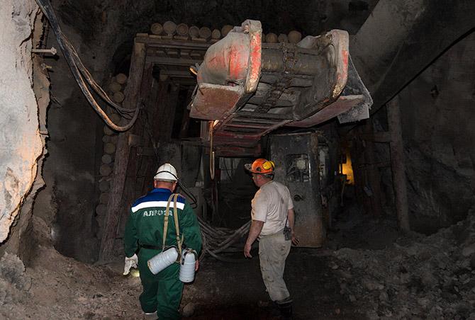 Всё глубже в алмазную шахту
