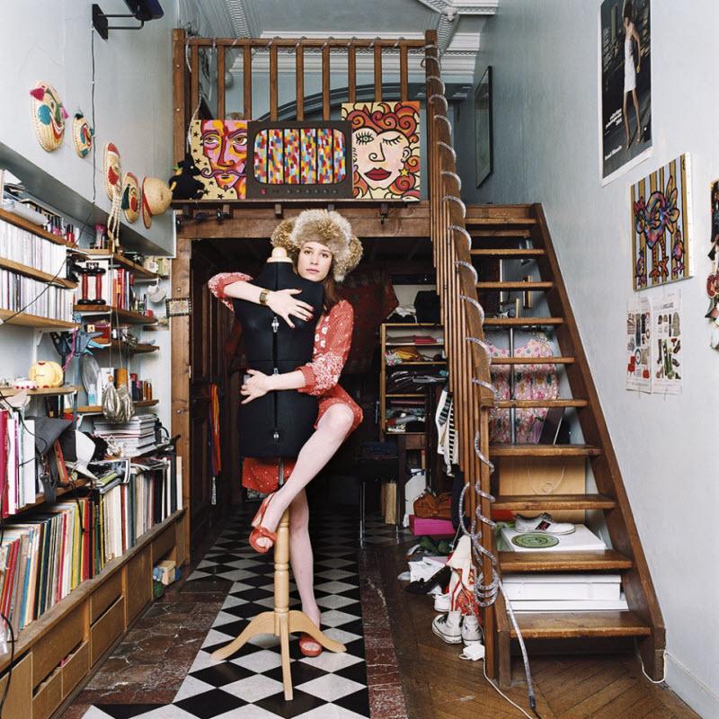 Француженки в интерьерах их парижских квартир
