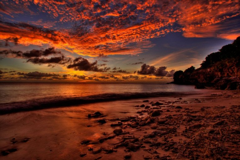 Карибский остров Кюрасао