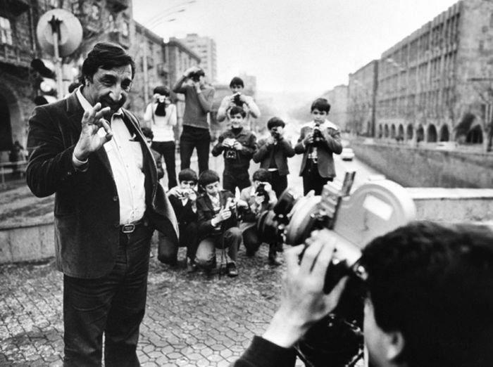 Неизвестные фотографии советских знаменитостей
