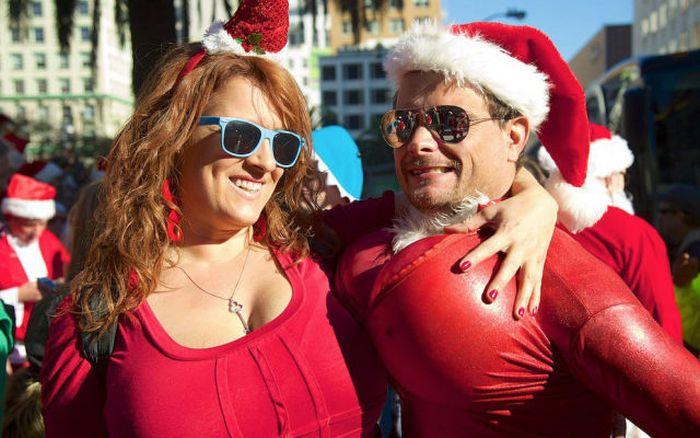 Фестиваль Санта-Клаусов 2014