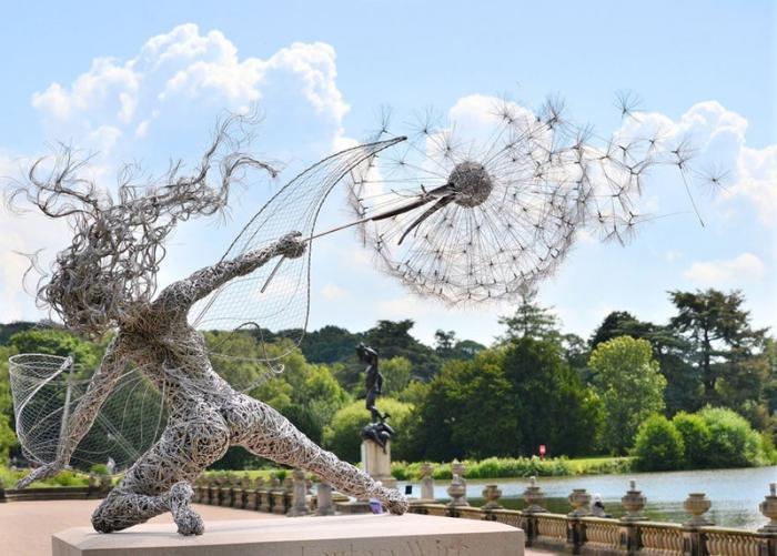 Скульптуры из проволоки от Робина Уайта