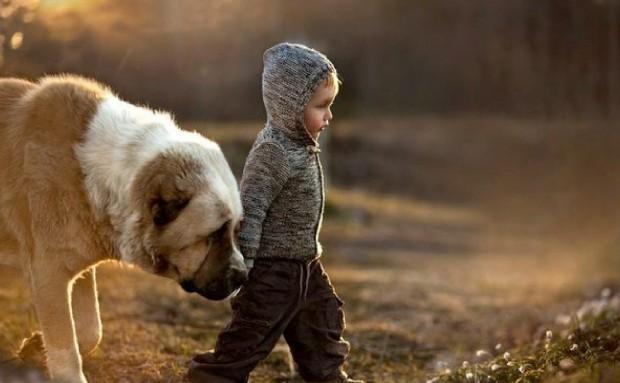 Дети, которые были воспитаны животными
