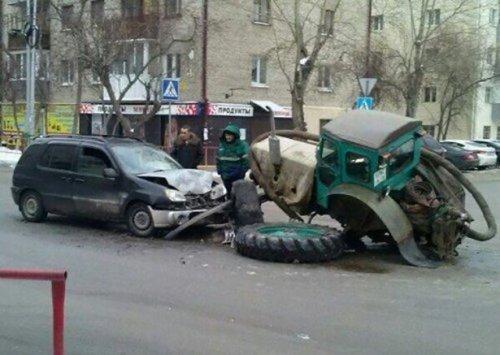 Необычные аварии и происшествия