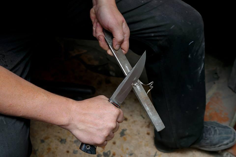 Необычные ножи из разных предметов