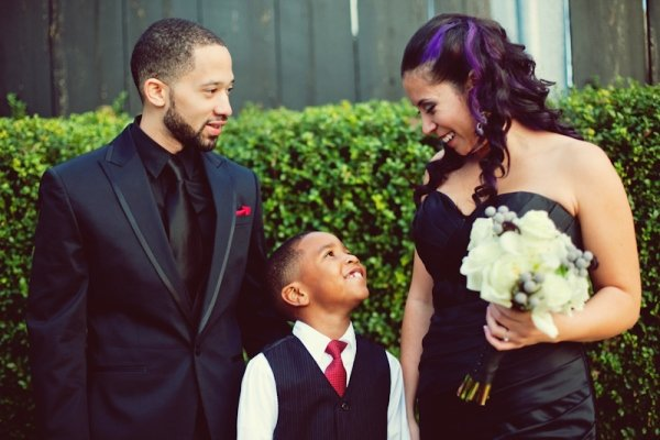 Невесты, которые выбрали черные свадебные платья