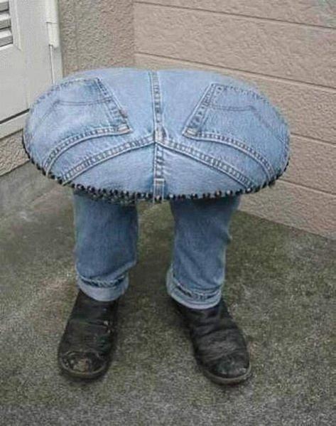 Полезные вещи из старых джинсов