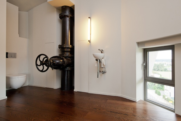 Жилой дом из водонапорной башни