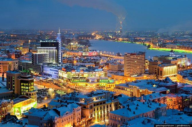 Фотографии Республики Татарстан с высоты