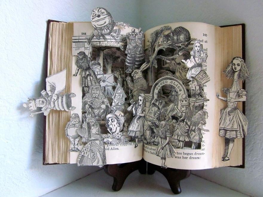 Лучшие книжные скульптуры
