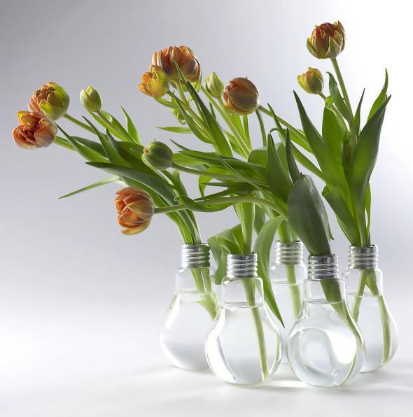 Оригинальные идеи повторного использования лампочек