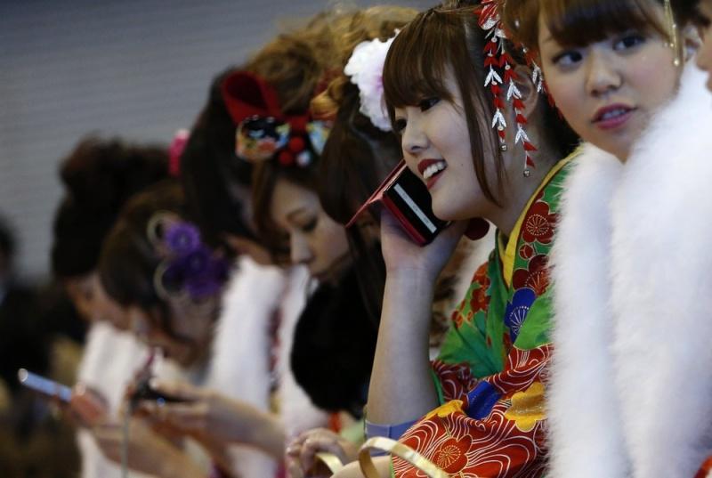 Праздник совершеннолетия в Токио
