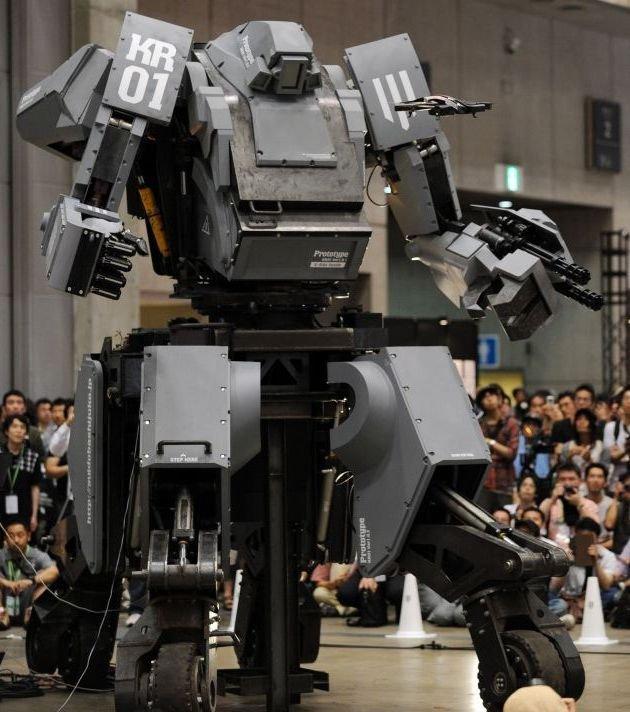 Роботизированный костюм Kuratas поступил в продажу