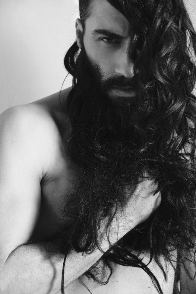 Горячие парни с длинными волосами