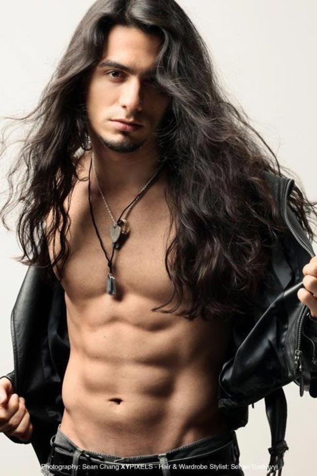 Секс парень с длинными волосами фото 675-638