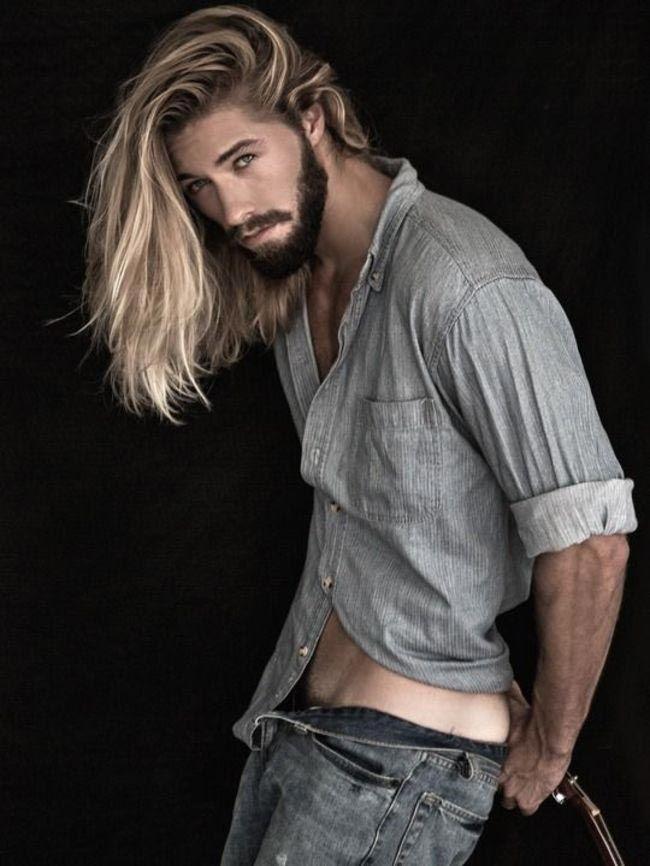 Парни с длинными волосами блондины