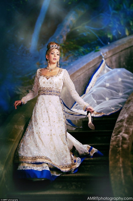 Индийские невесты в образе принцесс Диснея