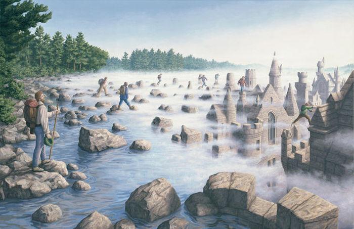 Оптические иллюзии от Роберта Гонсалвеса