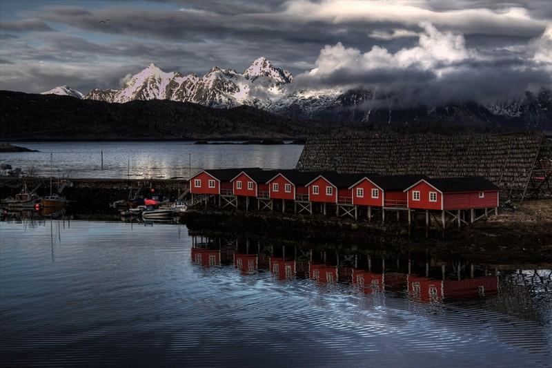 Лофотенские острова Норвегии