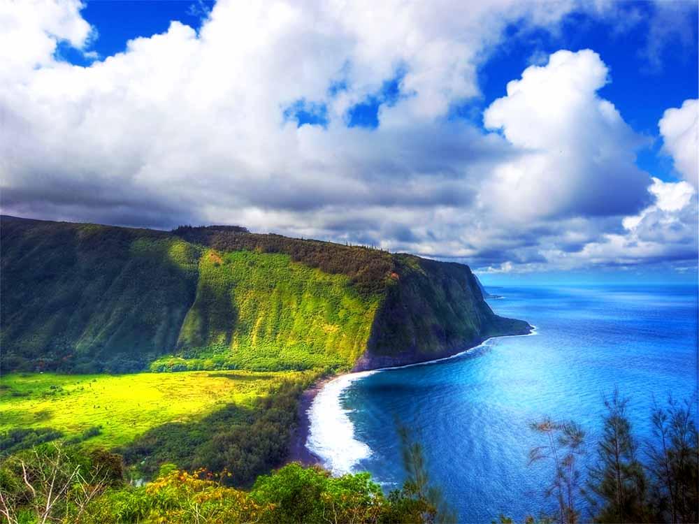 7 прекрасных мест на Гавайях