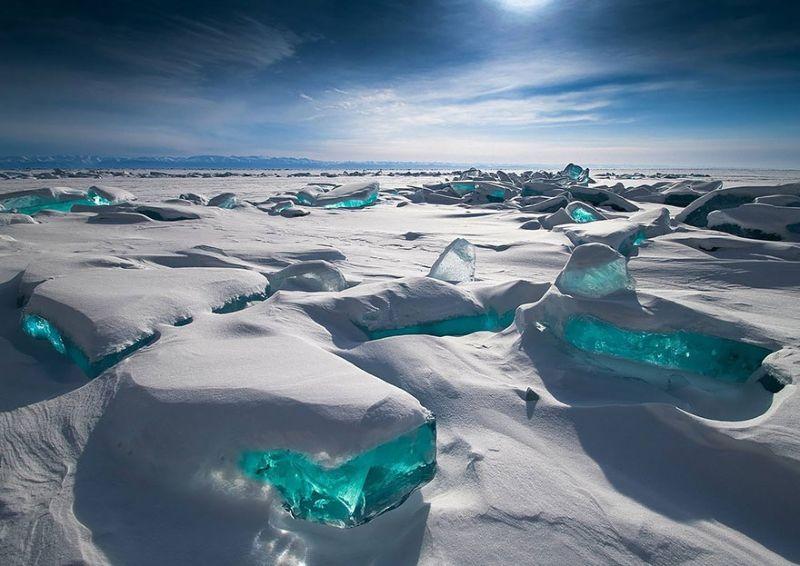 Зимние водоемы со всего мира
