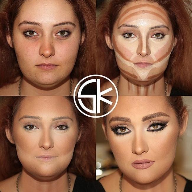 Хороший макияж в домашних условиях