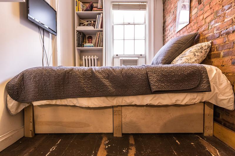 Квартира площадью 8 квадратных метров в престижном районе Нью-Йорка