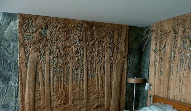 Резные картины из дерева от семьи Дубовик