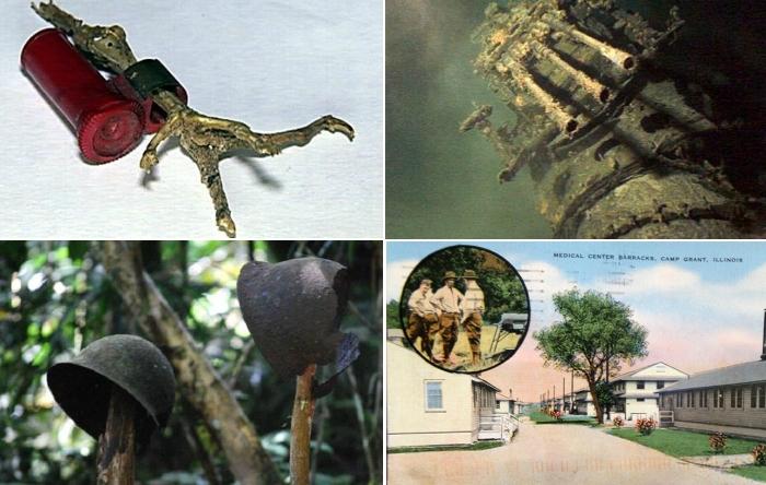 Найденные почти через 70 лет после Второй мировой войны артефакты