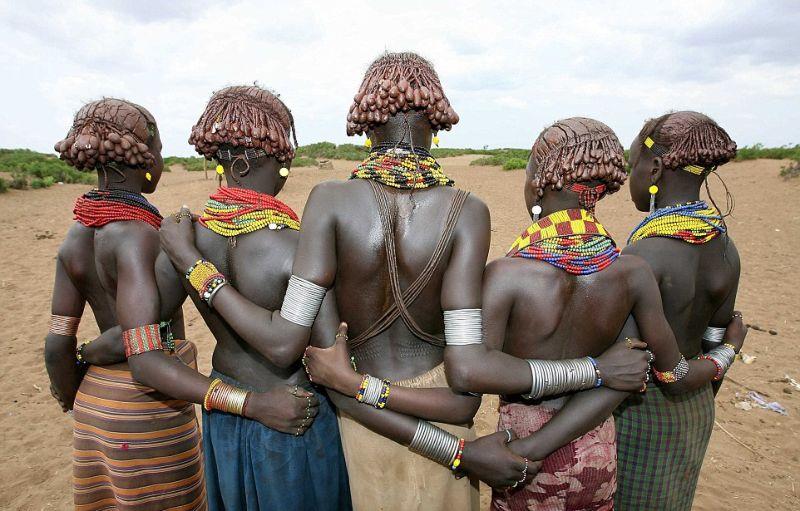 Стильные и красочные аборигены