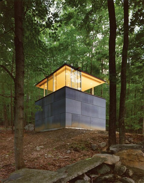 Библиотека для чтения в лесу