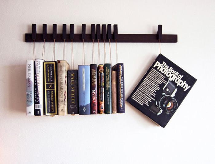 25 оригинальных книжных полок