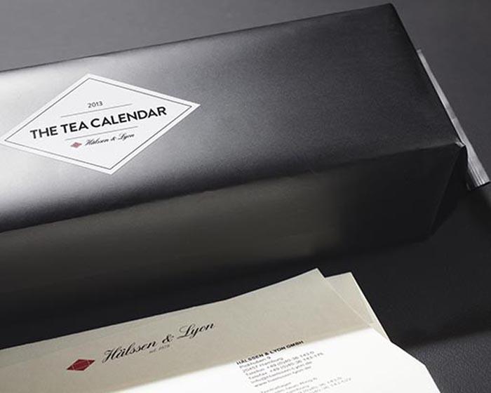 Чайный календарь на каждый день года, полностью состоящий из чая