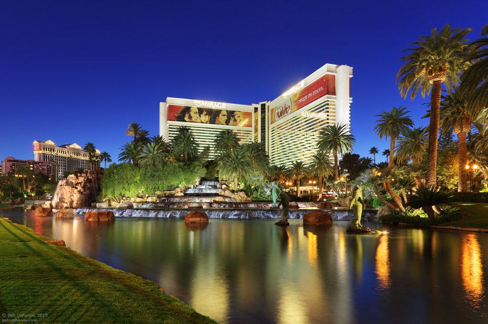 Город-казино Лас-Вегас