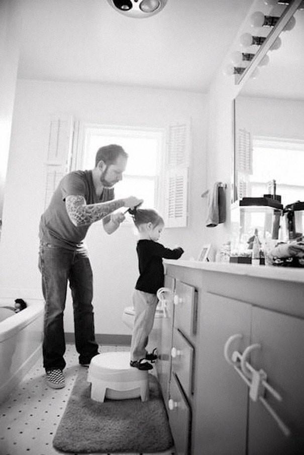 Татуированные родители и их дети