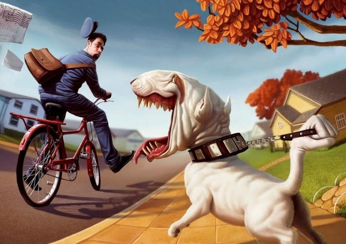 Прикольные иллюстрации Тиаго Хойсела