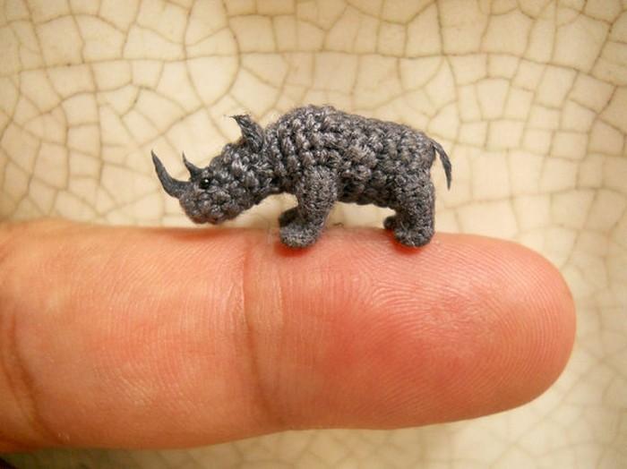 Миниатюрные  вязаные игрушки SuAmi