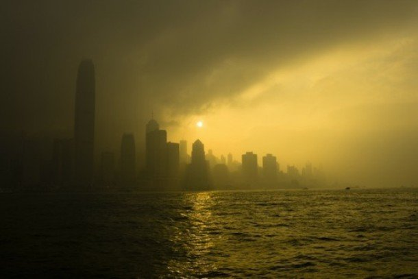Шокирующие фотографии загрязнения в Китае