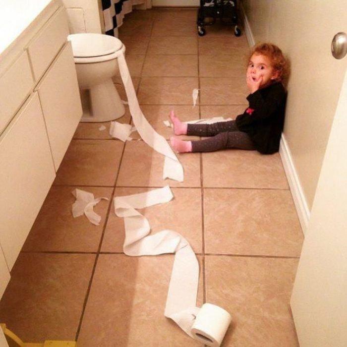 Когда дети остаются одни дома