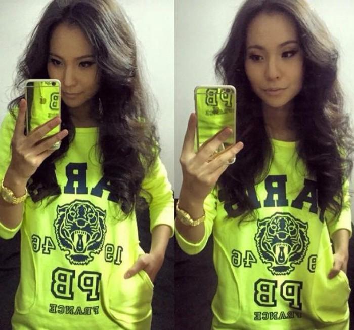 Красивые монгольские девушки из социальных сетей