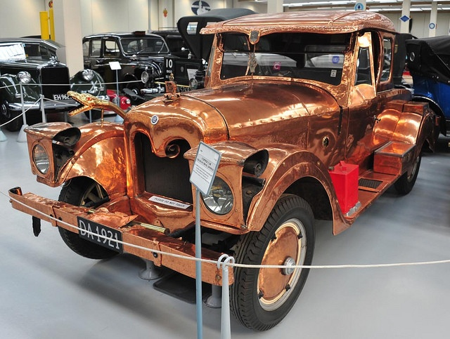 Автомобили с очень оригинальным дизайном