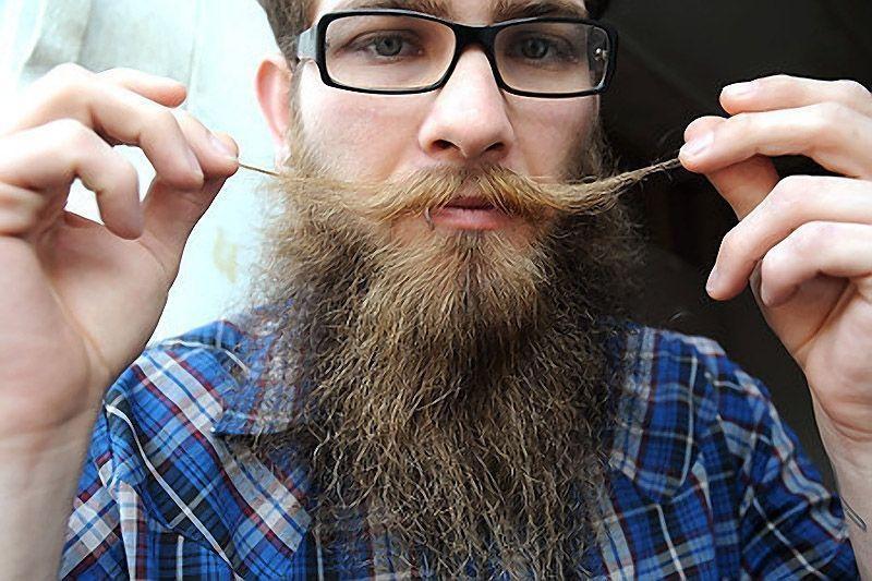 Такие разные бороды и усы