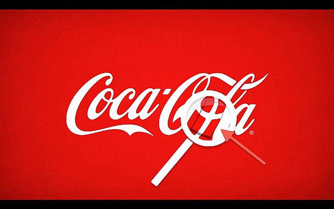 Скрытые элементы в известных логотипах