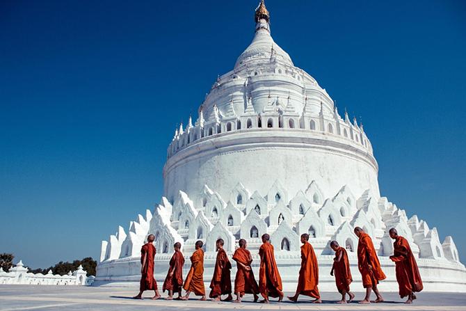 Красота Мьянмы на фотографиях