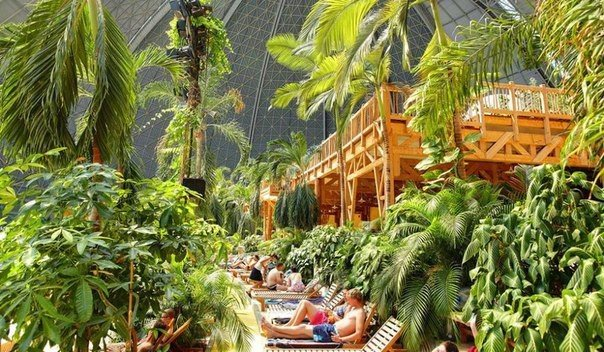 Тропические острова  в 60 км от Берлина