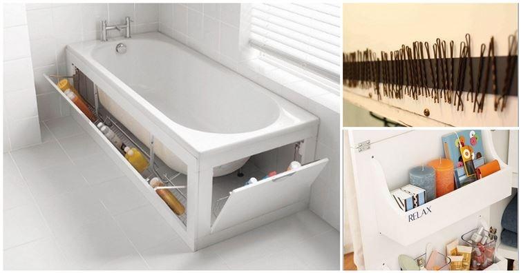 Полезные идеи для ванной комнаты