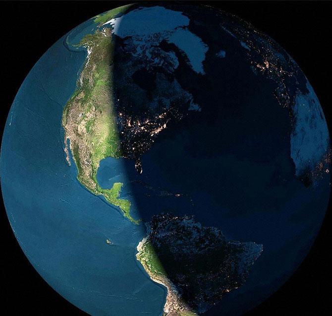 Что происходит за один день на Земле