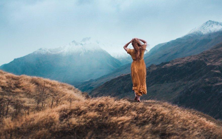 Пейзажи с людьми от Элизабет Гэдд